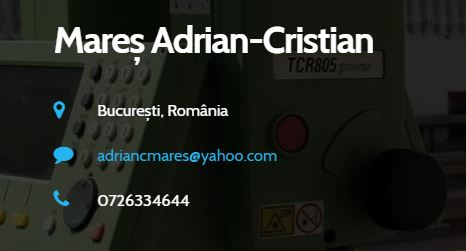 inginer geodez Mares Adrian